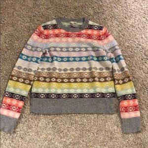 Gap wool blend sweater sz S